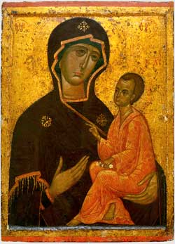 Vierge de Tikhvine